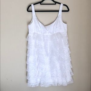 Maggy London tiered dress